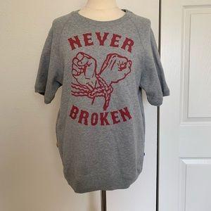 ❤️ DC Never Broken Quarter Sleeve Shirt